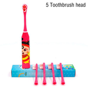 Generic Children Electric Toothbrush Cartoon Sonic Shock Children Kids Adult Home Cute Soft Hair Waterproof Cartoon Electric ToothbrushColor F