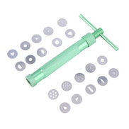 سامسونج عام UJ Green Clay Extruder Tool مع 20 نصيحة من أدوات تزيين عجينة السكر