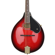 Fitness Mandolin A-Style For Beginners & Amateurs - Eight Strings - Red Burst