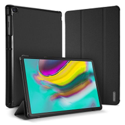 0 Generic Samsung Galaxy Tab S5e Leather Case With Stand Function - Black