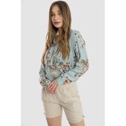 Merch Linen Mini Short - Women