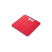 Beurer GS 300 Glass Bathroom Scale - Red