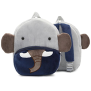 Generic 3D Animal Velvet Backpacks Children Cartoon Kindergarten Toys هدايا الحقائب المدرسية Elephant