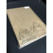 Generic Notebook with Leather Cover - Beige