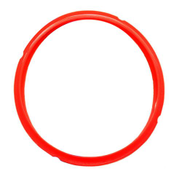 1xSafe Silicone Sealing Rings For Pressure Cooker Red 5L Red 5L 6L