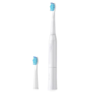 Generic E2 Waterproof Sonic Electric Toothbrush Adult Kids Electric Tooth Brush Automatic Toothbrush With 2replacement Brush HeadsWhite
