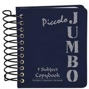 دفتر ملاحظات مسطر مبطن بيكولو جامبو من مينترا- 7.310 سم - 200 ورقة أزرق غامق