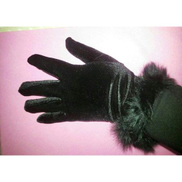 Fashion 21 American Women Finger Warmer With Fur Knitting Gloves All Hands Sizes