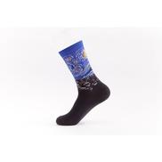 Generic ShopiKhan Starry Night Printed Sock