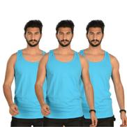 Hero Basics Tank Top - Set Of 3 Classic Men Under Tanks - Turquoise