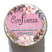 Confianza Makhmaria Kiss Love Perfumed Body And Hair Cream - 150ML