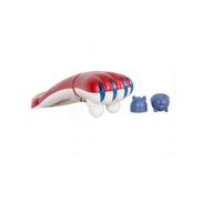 Generic جهاز مساج الجسم بالأشعة تحت الحمراء على شكل نمر - مزدوج الرأس - أحمر
