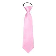 Generic ربطة عنق للاطفال بتصميم كلاسيكى ناعمه مناسبه للحفلات الرسميه - زهري فاتح