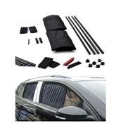 As Seen On Tv Mesh Interlock Car Window Shade - Black