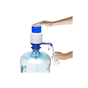 Generic Water Hand Press Pump - Blue White