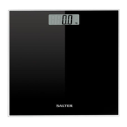 Salter 9037BK3R Glass Electronic Scale Black