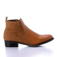 Mr Joe Leather Ankle Boot - Havan 3410