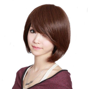 Wigs For Woman Short - Brown