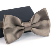 Fashion 1PC Men Classic Satin Bowtie Necktie