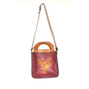 Generic Natural Leather Bird Bag -handmade