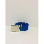 Generic Blue Canvas Belt For Unisex