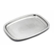 Zahran 3301201035 - Rectangular Stainless Steel Tray 35