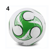 Generic Professional Competition Training Soccer Game Official Scale Football Premier League Non-slip Ball PU Size 3 4 5 SoccerGreen 4