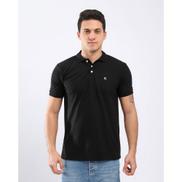 Kubo Short Sleeves Polo Shirt - Black