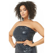 Forever 21 Plus Size Sequin Top Top