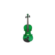 Generic 4 4 Student's Violin With Accessories - Green
