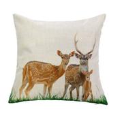 Generic Fashion White Pillowcase Home Decoration Car Sofa Square Cushion Cover