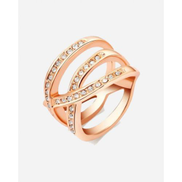 Generic Overlapped Ring - Gold