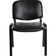 Generic Hard Pvc Low Back Chair - Black