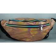 Generic Metallic Holographic Waist Bag
