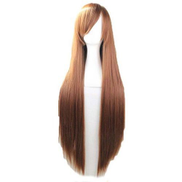 Other Brown Long Cosplay Anime Wig