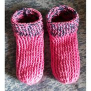 Generic Women Winter Socks Home Wear - Fuchsias