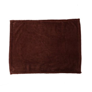 Generic Warm Flannel Solid Color Home Sofa Bedding Office Car Blanket Home Textile 45x65cm Coffee