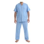 Shorto Classic Pajama Set - Blue