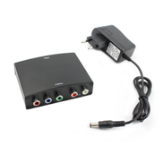 Generic OR Portable HDMI RGB Component To YPBPR Converter YPbPr R L Audio Adapter Black