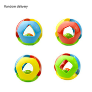 Generic Kids Activity Toys Baby Boys Girls Toys Mini Cartoon Football Rings Toys Multi-color