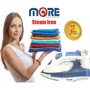 More Steam Iron - 1800W - White Blue