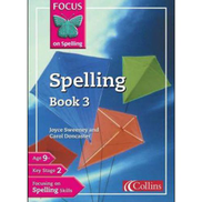 Generic Focus On Spelling Book 3