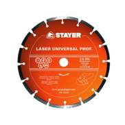 Stayer Laser Segmented Diamond Blade 115mm 10mm