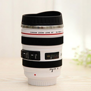 Generic Camera Lens Coffee Mug - White