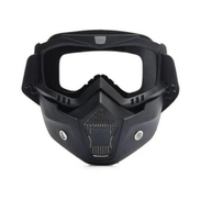 Generic HD Shark Face Mask - شاشة شفافة