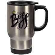 Generic Thermal Stainless Steel Mug - BOSS