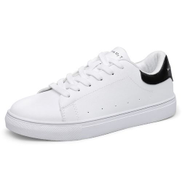 Fashion Men Sport Shoes Sneakers Daily Casual Shoes-White Black