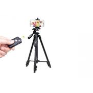 Yunteng VCT 5208 Mobile phone,Camera Tripod With Bluetooth Shutte