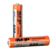Generic Rechargeable Battery - Size AAA - Ni-MH - 800mAh - 1.2V