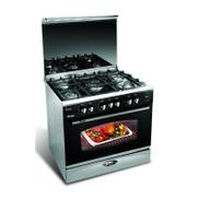 Uniontech Unionaire Gas Cooker: 5 Burners: 80 Cm - C6080SSNC511IDSC